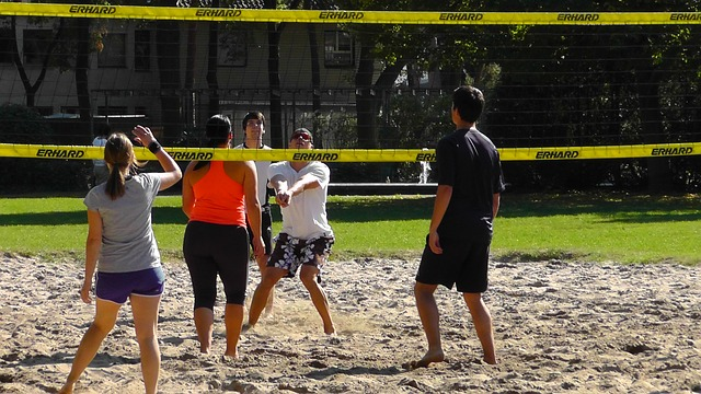 Field Volleyball Arena